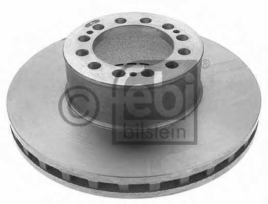 Тормозной диск FEBI BILSTEIN 12731 - изображение