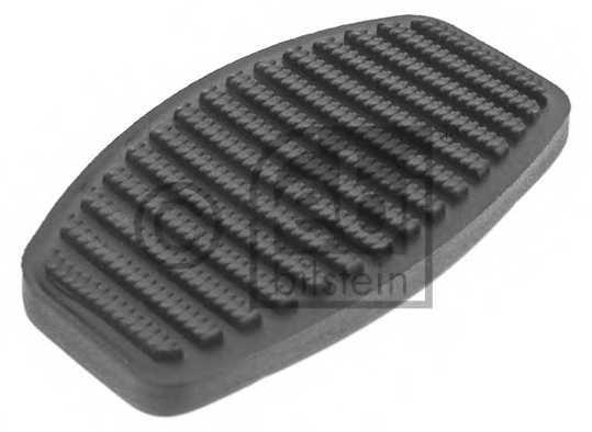Педальные накладка, педаль тормоз FEBI BILSTEIN 12833 - изображение