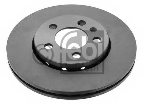 Тормозной диск FEBI BILSTEIN 14404 - изображение