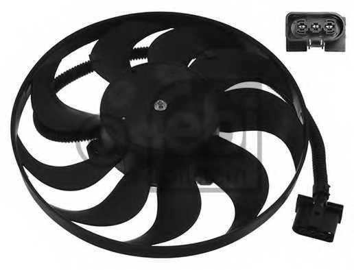 Вентилятор охлаждения двигателя FEBI BILSTEIN 14744 - изображение
