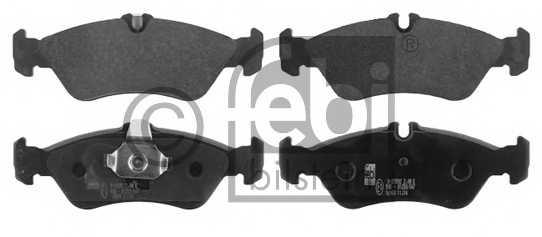 Колодки тормозные дисковые FEBI BILSTEIN 16160 - изображение