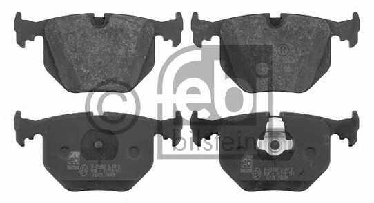 Колодки тормозные дисковые FEBI BILSTEIN 16175 - изображение