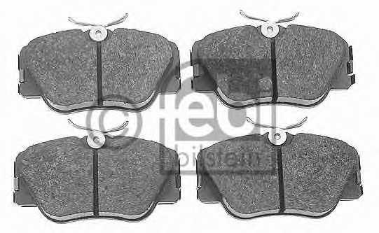 Колодки тормозные дисковые FEBI BILSTEIN 16193 - изображение