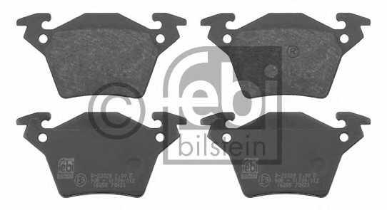 Колодки тормозные дисковые FEBI BILSTEIN 16255 - изображение