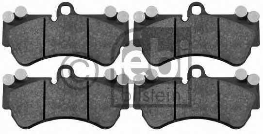 Колодки тормозные дисковые FEBI BILSTEIN 16459 - изображение