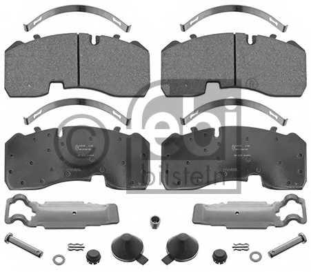 Колодки тормозные дисковые передний/задний <b>FEBI BILSTEIN 16607</b> - изображение