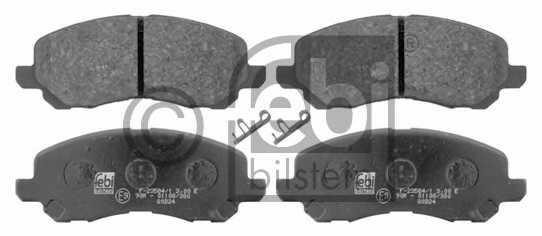 Колодки тормозные дисковые FEBI BILSTEIN 16644 - изображение