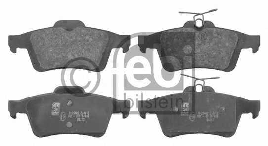 Колодки тормозные дисковые FEBI BILSTEIN 16718 - изображение