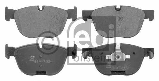 Колодки тормозные дисковые FEBI BILSTEIN 16729 - изображение