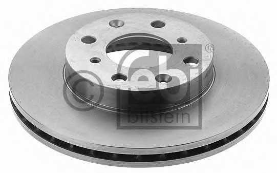 Тормозной диск FEBI BILSTEIN 17356 - изображение