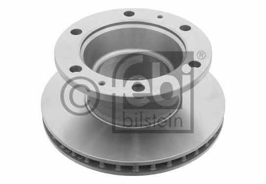Тормозной диск FEBI BILSTEIN 17367 - изображение