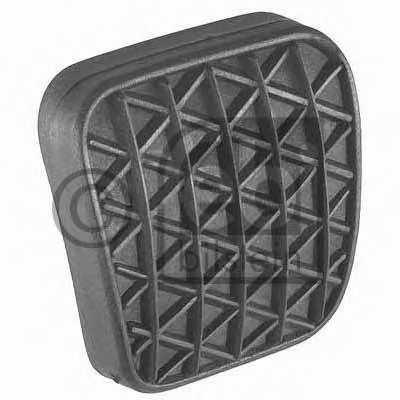 Педальные накладка, педаль тормоз FEBI BILSTEIN 17728 - изображение