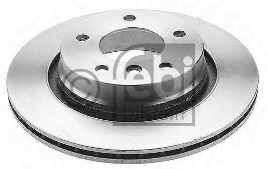 Тормозной диск FEBI BILSTEIN 17925 - изображение