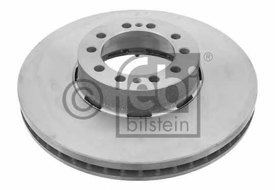 Тормозной диск FEBI BILSTEIN 18019 - изображение
