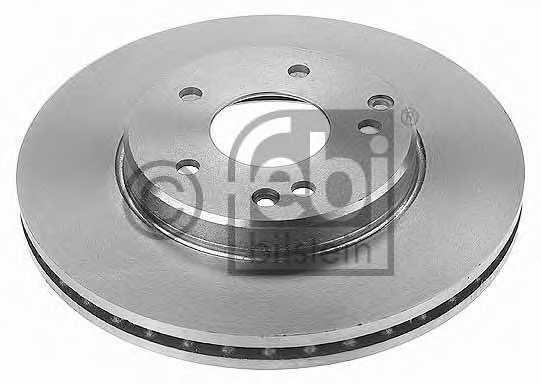 Тормозной диск FEBI BILSTEIN 18886 - изображение