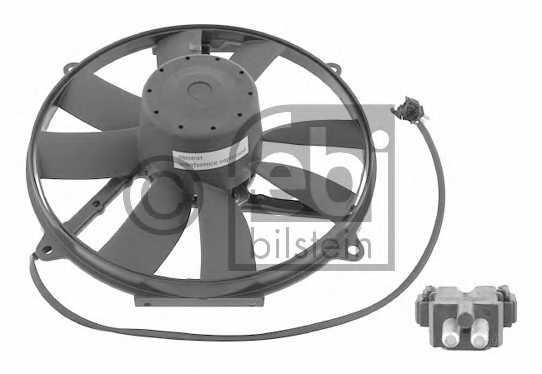 Вентилятор конденсатора кондиционера FEBI BILSTEIN 18929 - изображение
