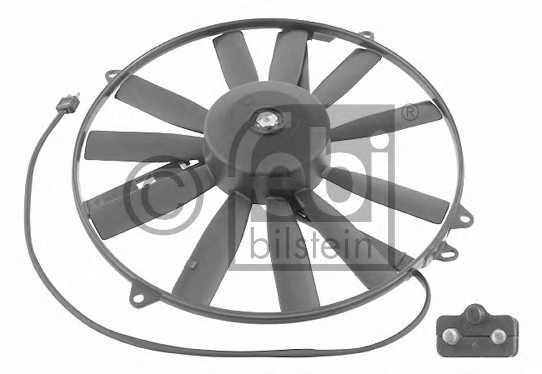 Вентилятор конденсатора кондиционера FEBI BILSTEIN 18932 - изображение