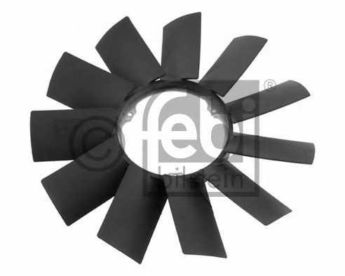 Крыльчатка вентилятора охлаждения двигателя FEBI BILSTEIN 19256 - изображение