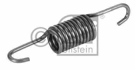 Пружина растяжения, натяжной ролик (зубчатый ремень) FEBI BILSTEIN 19324 - изображение
