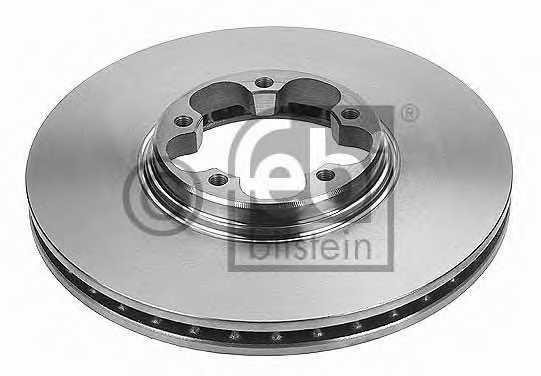 Тормозной диск FEBI BILSTEIN 19514 - изображение