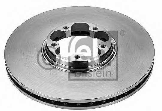 Тормозной диск FEBI BILSTEIN 19515 - изображение