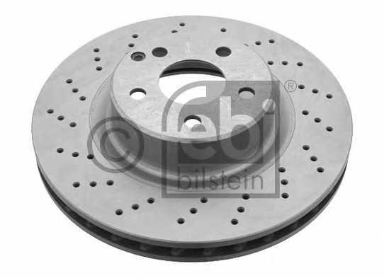 Тормозной диск FEBI BILSTEIN 21086 - изображение