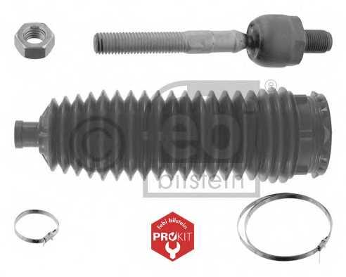 Ремкомплект, осевой шарнир поперечная рулевая тяга FEBI BILSTEIN 21453 - изображение