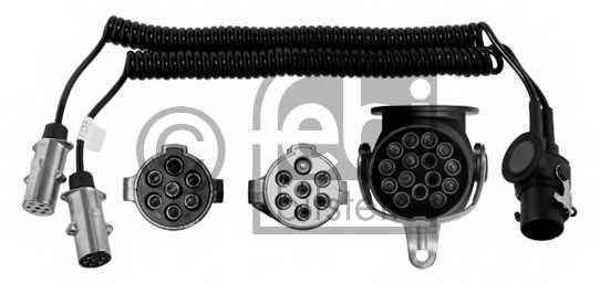 Адаптер, электроспираль FEBI BILSTEIN 21907 - изображение