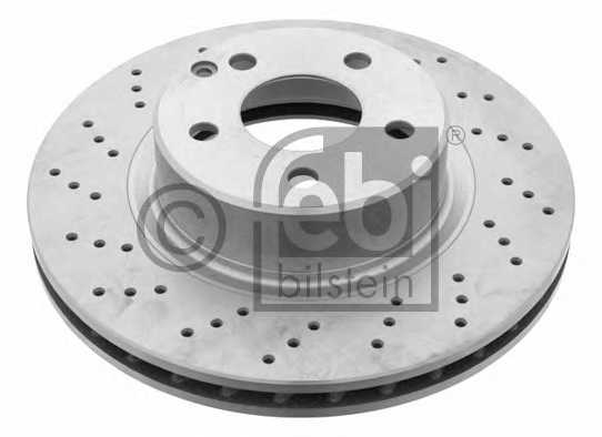 Тормозной диск FEBI BILSTEIN 22683 - изображение