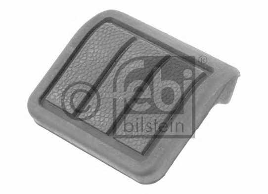 Педальные накладка, педаль тормоз FEBI BILSTEIN 22780 - изображение