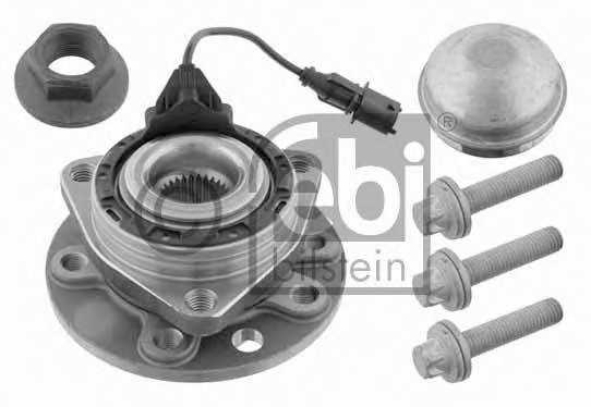 Комплект подшипника ступицы колеса FEBI BILSTEIN 23377 - изображение