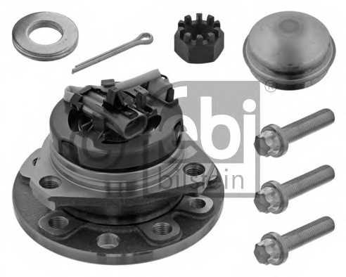 Комплект подшипника ступицы колеса FEBI BILSTEIN 24164 - изображение