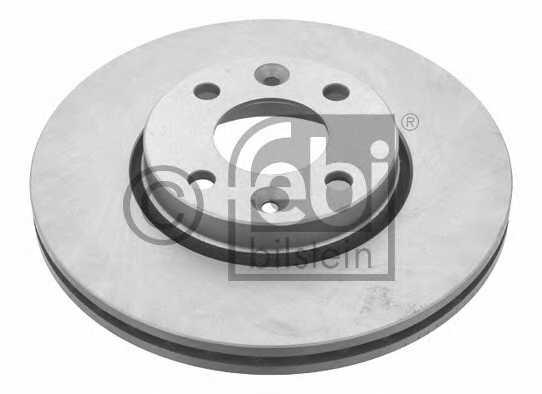Тормозной диск FEBI BILSTEIN 24165 - изображение