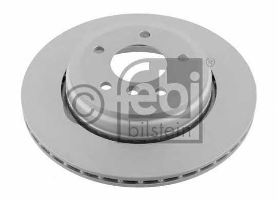 Тормозной диск FEBI BILSTEIN 24344 - изображение