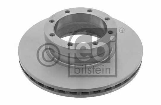 Тормозной диск FEBI BILSTEIN 24459 - изображение