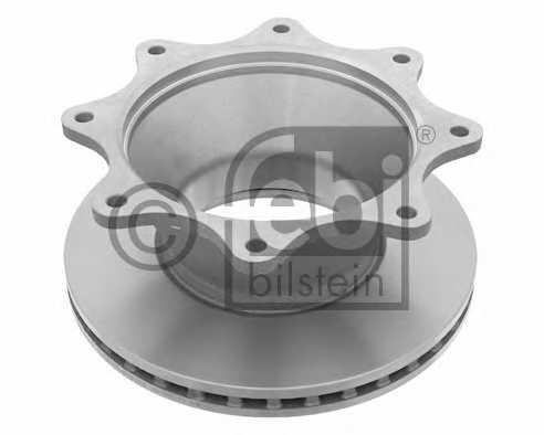 Тормозной диск FEBI BILSTEIN 24462 - изображение