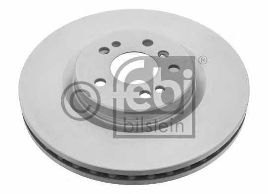 Тормозной диск FEBI BILSTEIN 24743 - изображение