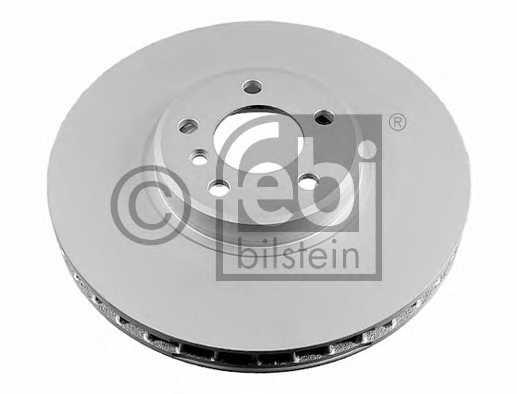 Тормозной диск FEBI BILSTEIN 24801 - изображение