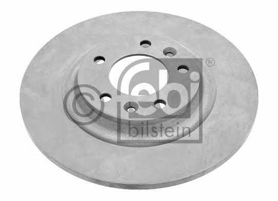 Тормозной диск FEBI BILSTEIN 26037 - изображение