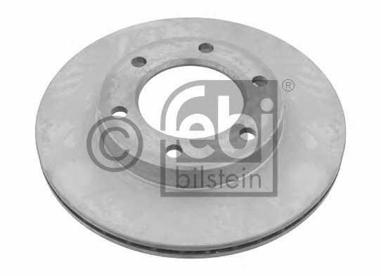 Тормозной диск FEBI BILSTEIN 26067 - изображение