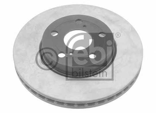 Тормозной диск FEBI BILSTEIN 26072 - изображение