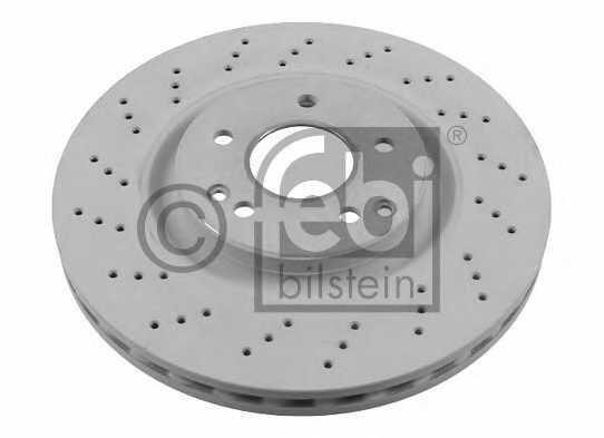 Тормозной диск FEBI BILSTEIN 26107 - изображение