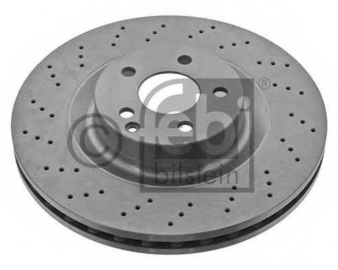 Тормозной диск FEBI BILSTEIN 26406 - изображение