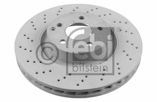 Тормозной диск FEBI BILSTEIN 26407 - изображение