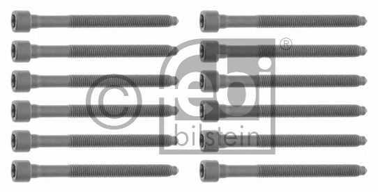 Комплект болтов головки цилидра FEBI BILSTEIN 26433 - изображение