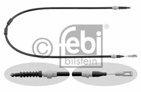 Трос стояночной тормозной системы FEBI BILSTEIN 26455 - изображение