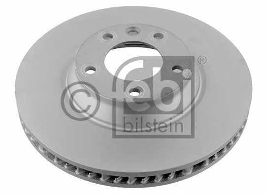 Тормозной диск FEBI BILSTEIN 26649 - изображение