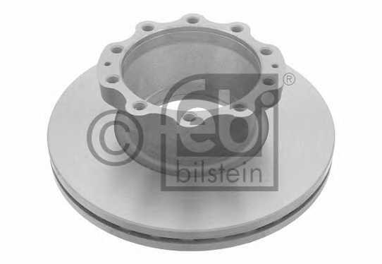Тормозной диск FEBI BILSTEIN 27224 - изображение