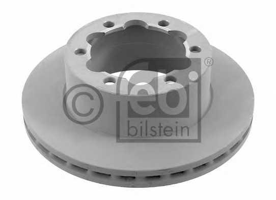 Тормозной диск FEBI BILSTEIN 27700 - изображение