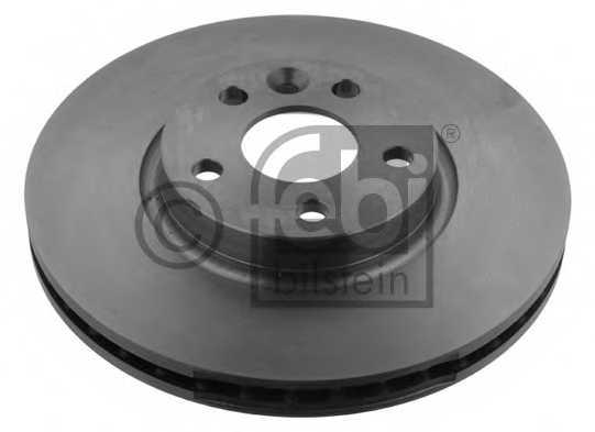 Тормозной диск FEBI BILSTEIN 28361 - изображение